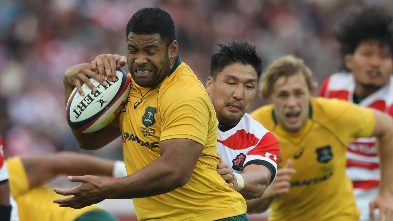 Scott Sio's injury is a major blow for Australia. (Photo by David Rogers/Getty Images)