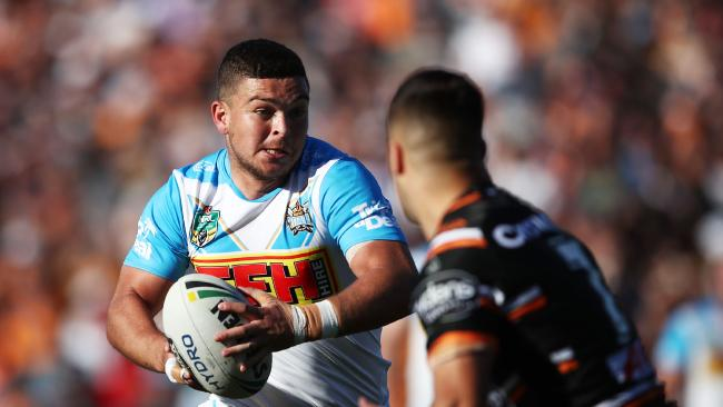 Taylor has made the most errors of any halfback in the NRL. (Photo by Matt King/Getty Images)
