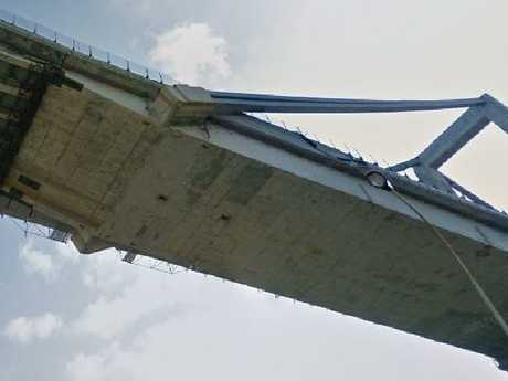 There were warnings about problems with the structure well before it crumbled. Picture: Google Maps