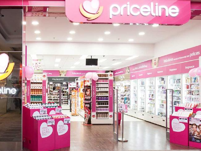 Stef says she loves to buy hair and beauty products at Priceline.