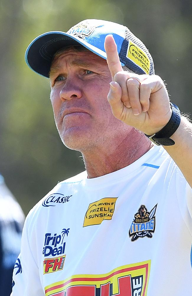 Garth Brennan has defended his under-fire halfback. (AAP Image/Dave Hunt)