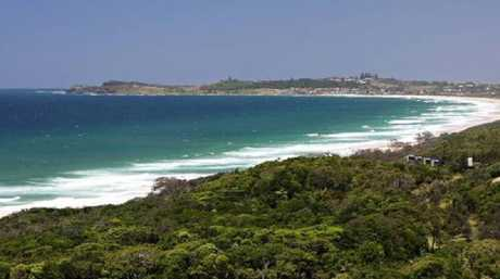 Popular surf breaks north of Lennox Head.