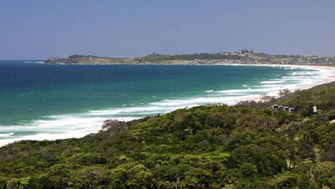 Popular surf breaks north of Lennox Head.