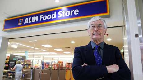"Dick Smith has accused Aldi of being too ""secretive"". Picture: Tim Hunter."