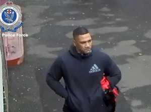 Armed robbery manhunt