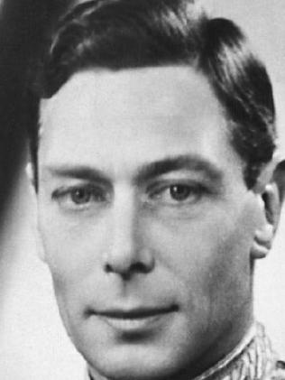 King George VI. His first name was actually Albert. Picture: Supplied.