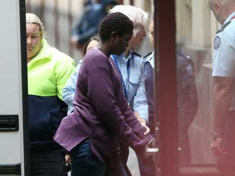 Akon Guode had her sentence reduced on appeal on Thursday. Picture: David Crosling/AAP