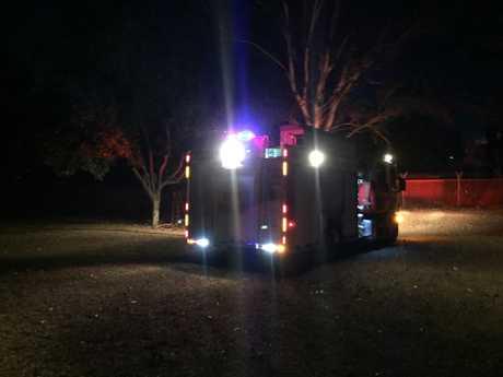 Fire at Bundaberg showgrounds