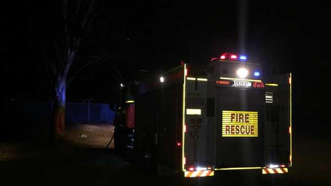 UPDATE: Fire at old Bundaberg Showgrounds