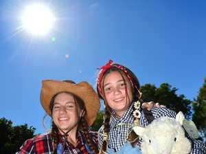 Kawana College students Shae Prescott and Sadie