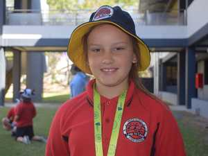 Taleya Brooker from Parkhurst State School hopes to