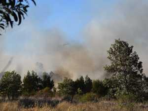 UPDATE: Grass fire near Gin Gin under control