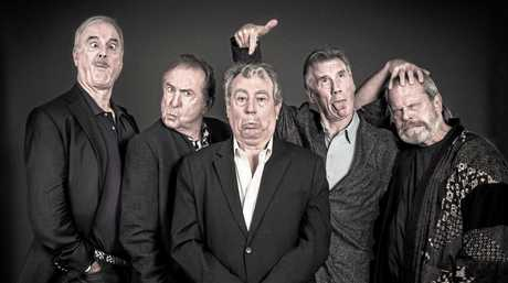 Monty Python's surviving five members.