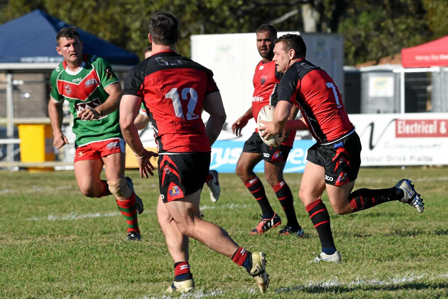 Bundaberg Rugby League: Hervey Bay Seagulls v Wests Panthers at Stafford Park, Hervey Bay.