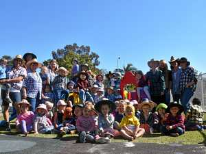 Farmer dress-up fun