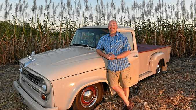 MY RIDE: Andrew Jackson says his 1968 International C1100 utility takes him back to his childhood.