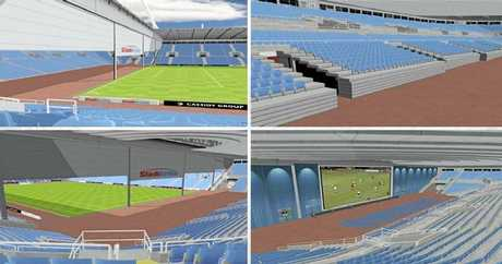 STADIUM PLANNING: These are some of the design ideas being considered for the new Browne Park Stadium.