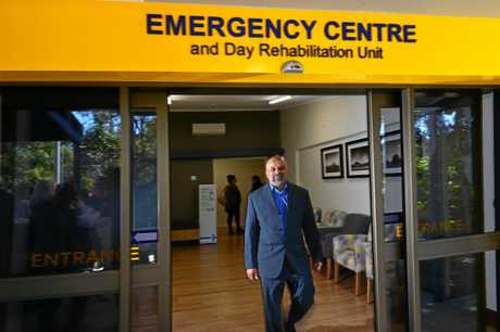 Buderim Private Hospital have opened a new emergency centre. Director of the emergency centre Dr Sharad Pandit.