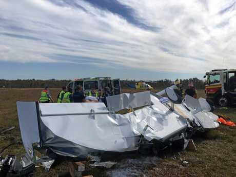 On 12th August, 2017, Ben Berg's plane crashed at Caloundra Aerodrome.