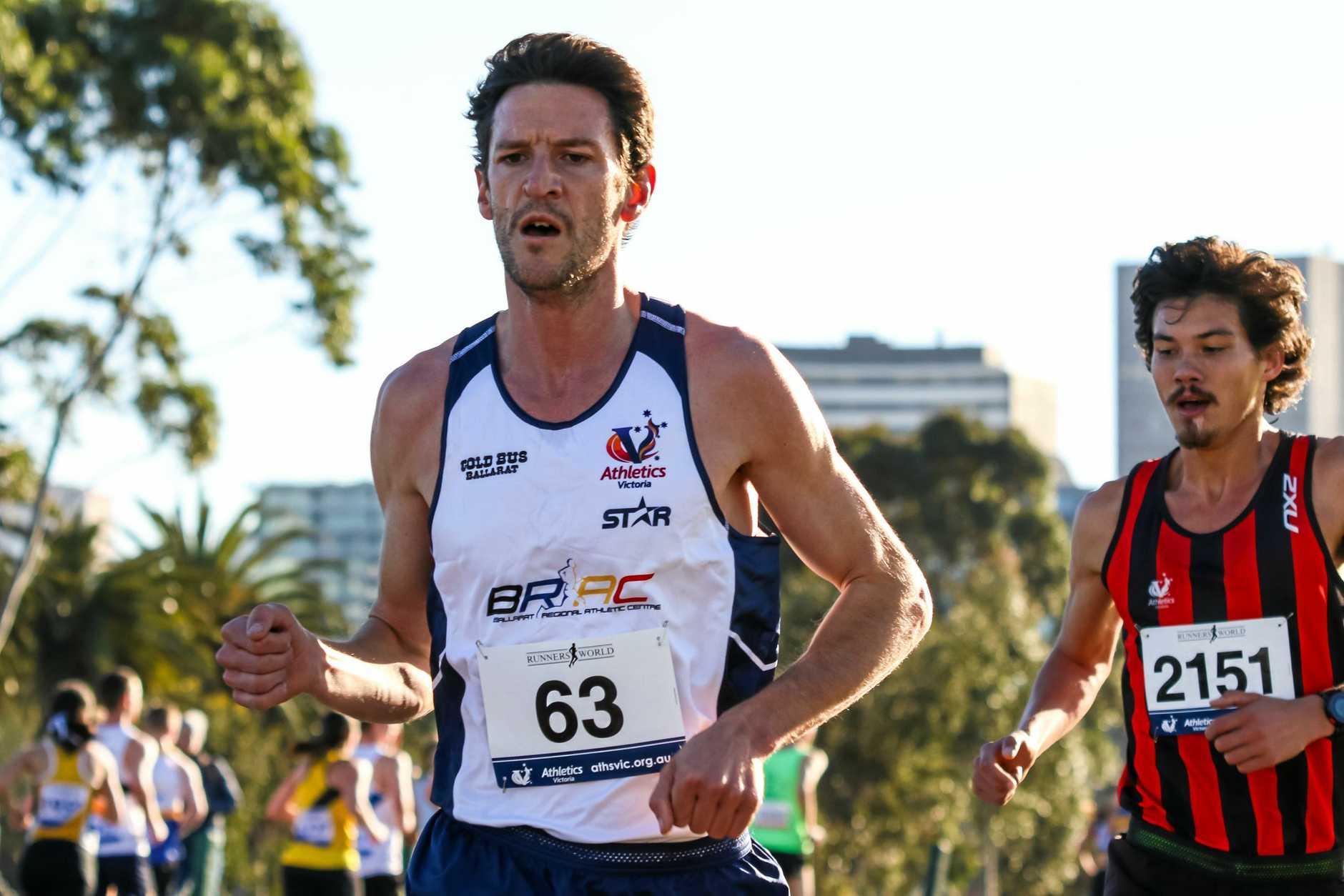 AUSTRALIAN CHAMP: Collis Birmingham won at Lake Windouree a fortnight ago.