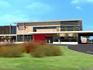 Macksville Hospital flyover