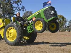 Dancing tractor 'Tready' takes on world record attempt
