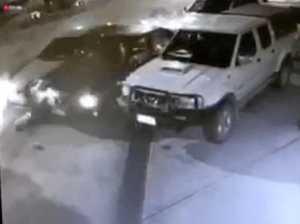CCTV: Maclean crash caught on film