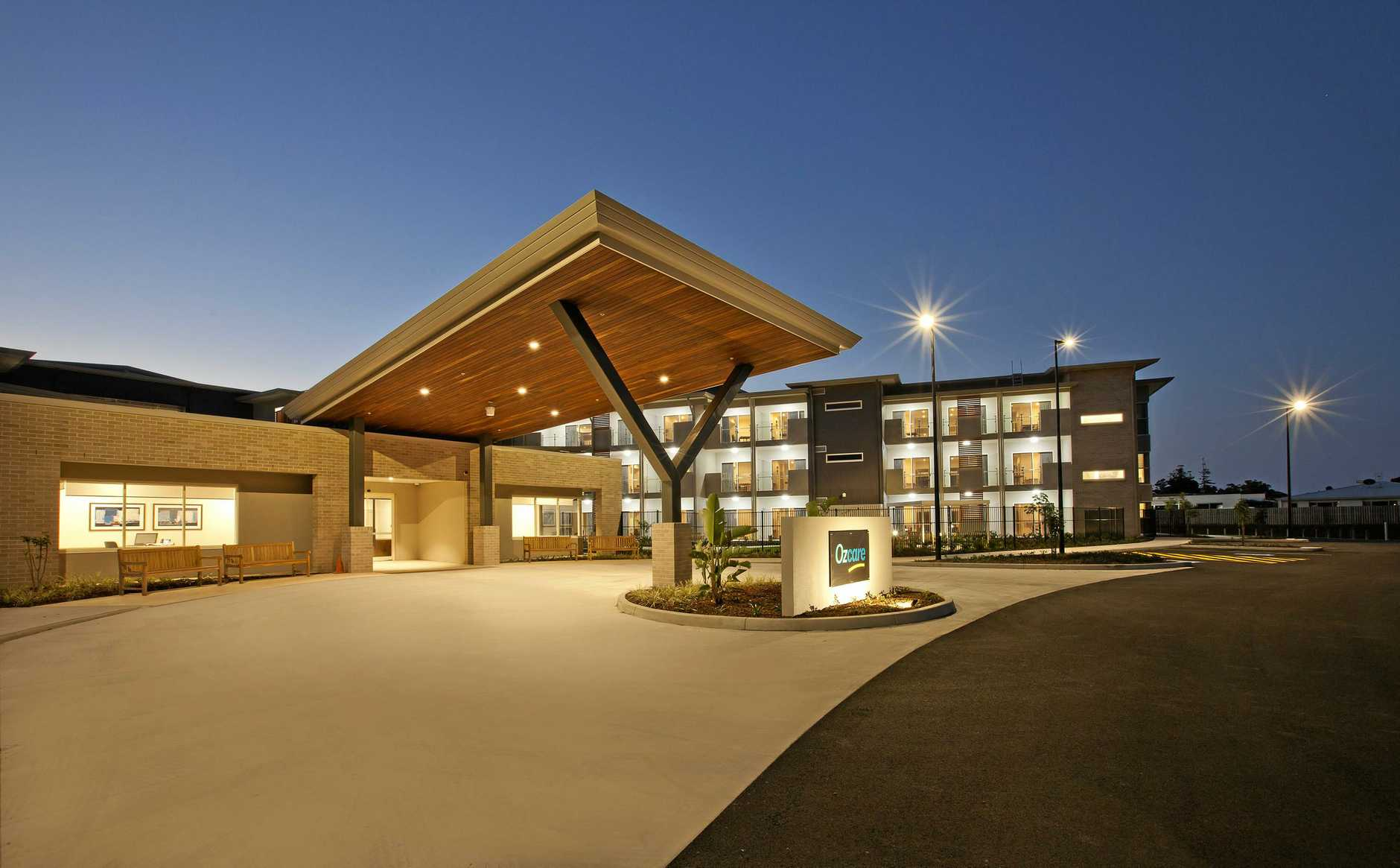 TOP AWARD: Woollam Constructions won the Community Accommodation for Aged Care and Nursing Homes at the Master Builders Queensland awards, for the Ozcare Aged Care Centre in Hervey Bay.
