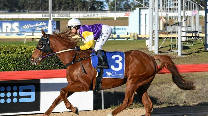 ONE TO BEAT: Fasta than Light, with jockey Miki Nakao, shown here winning the Bundaberg Cup, will be the duo to beat.