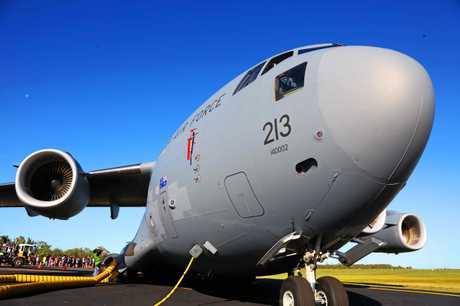 Boeing C-17 Globemaster.
