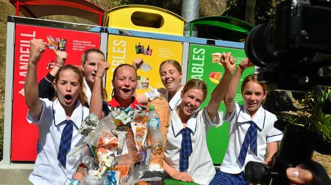 College deserves praise for joining war on waste