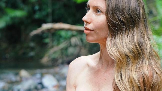 Freelee the Banana Girl, originally from Queensland, decided to live off-grid in the jungle with her partner.