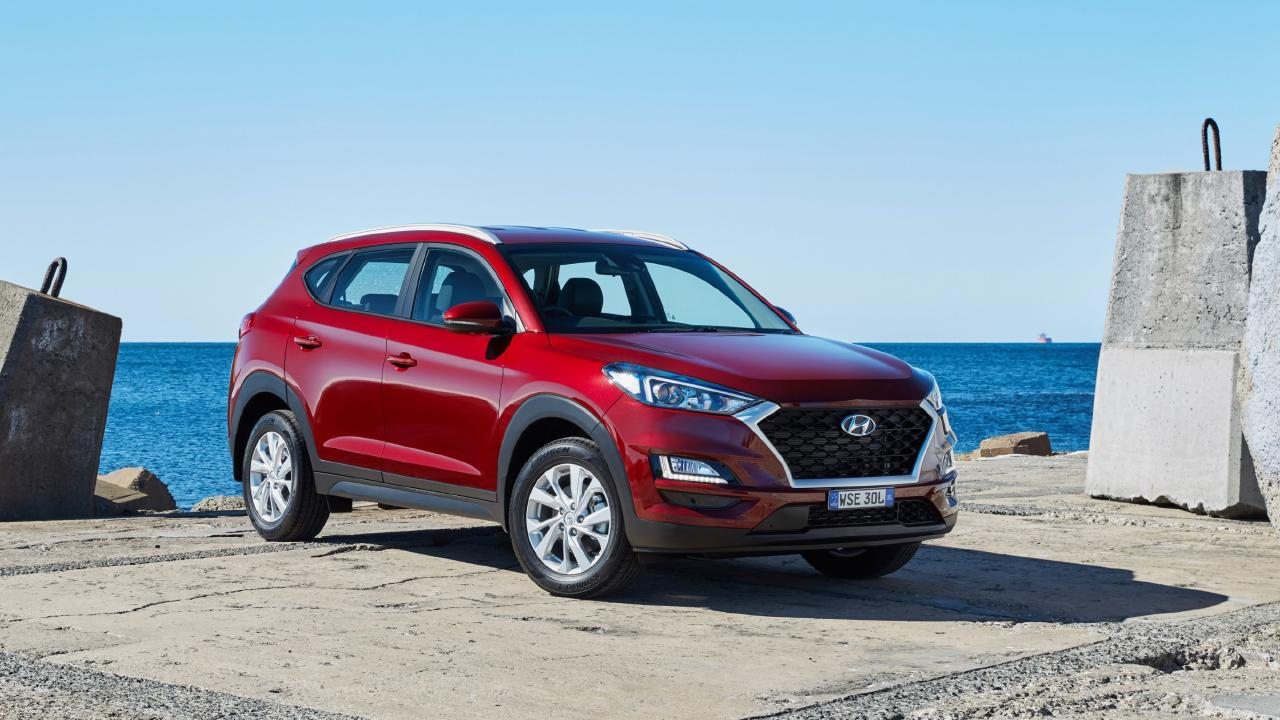 Solid effort … the updated Hyundai Tucson is better than the original version introduced three years ago. Picture: Supplied.