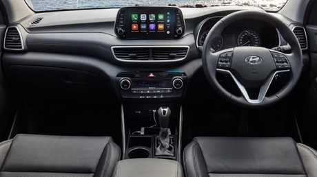 The MY19 Hyundai Tucson interior has received a much needed makeover. Picture: Supplied.