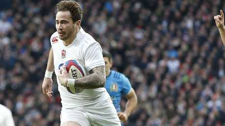 Danny Cipriani started for England for the first time in a decade against South Africa. Picture: Alastair Grant/AP