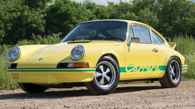 Worth a million: 1973 Porsche 911 RS Carrera 2.7