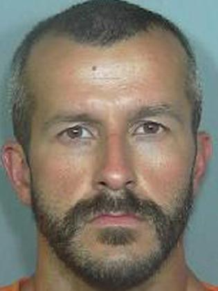 This booking photo of Chris Watts. Picture: AP