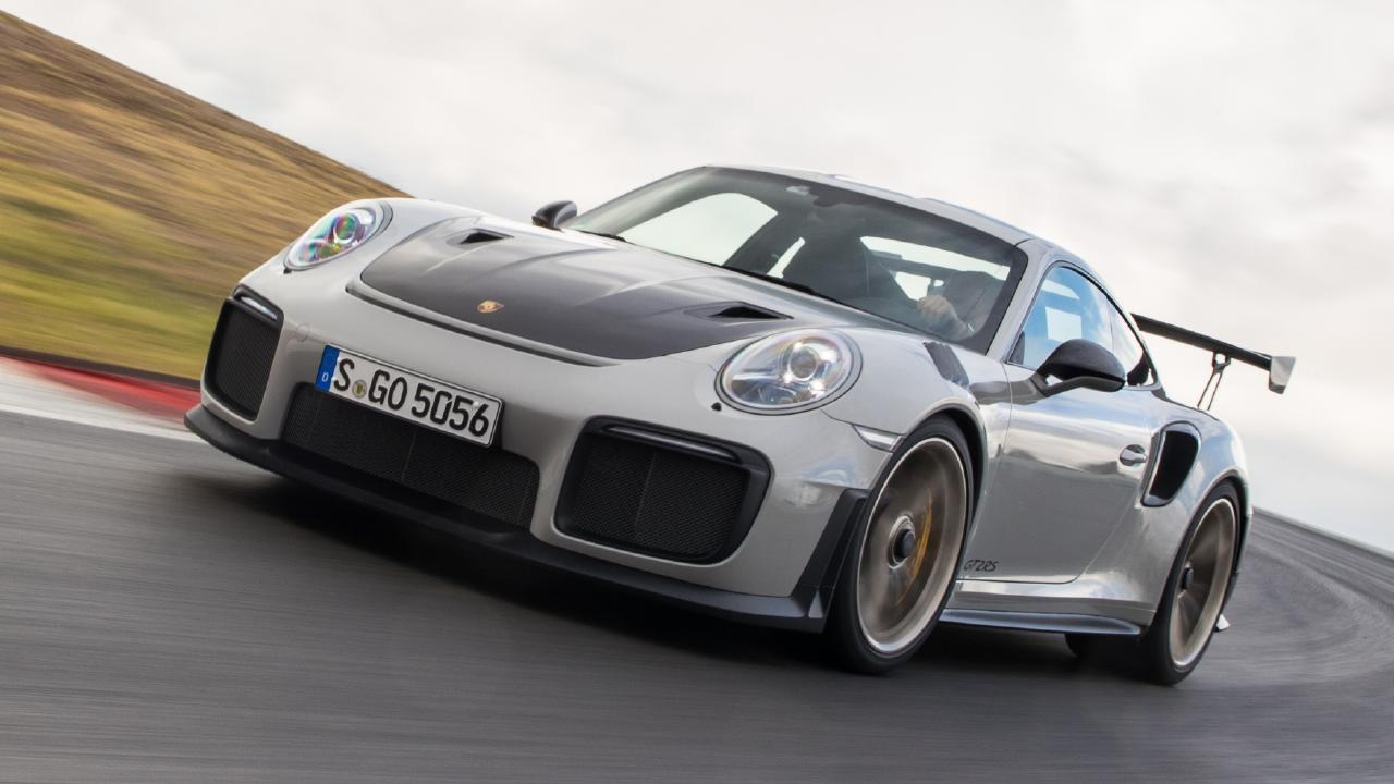 Proceed with caution: the Porsche 911 GT2 RS delivers 515kW and 750Nm to the rear wheels only. Picture: Supplied.