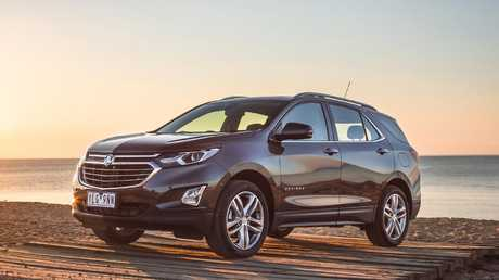 The Holden Equinox is the same vehicle as the Chevrolet Equinox.