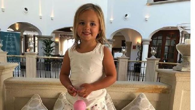 Heiress Tamara Ecclestone has been accused of spoiling her four-year-old daughter Sophia (pictured) rotten. Picture: Instagram