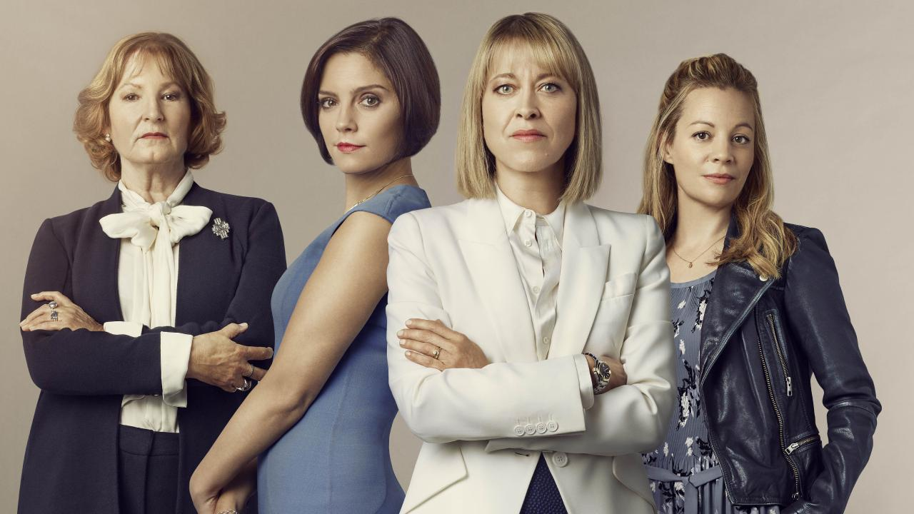 Girl Power is alive and well in UK legal drama The Split.