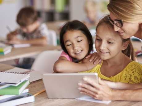 Disturbing trends are emerging as kids get online from a very young age. Picture: Supplied