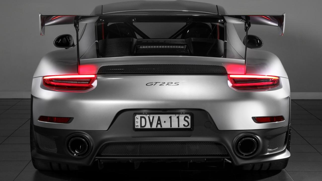 The Porsche 911 GT2 RS is known as the widow-maker. Picture: Supplied.
