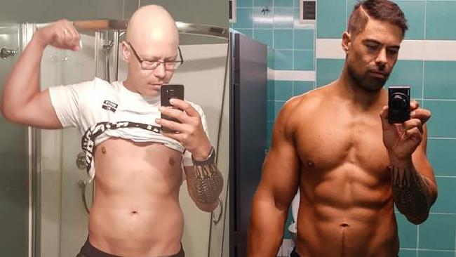 From chemo to 'ripped' six pack