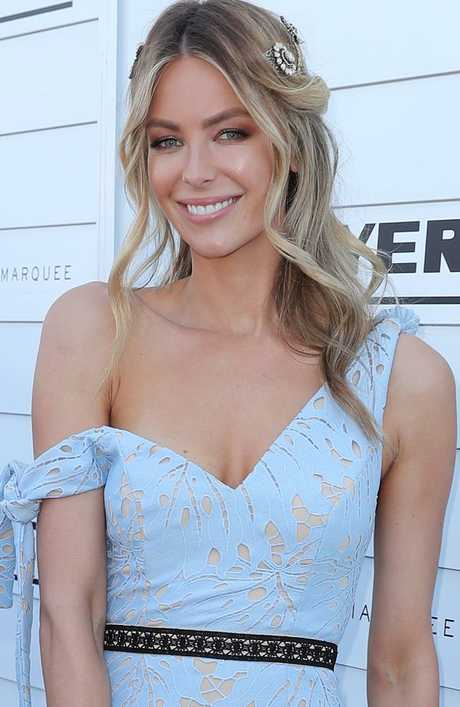 After 12 years with the brand, Jennifer Hawkins will be stepping down as the Face of Myer. Picture: Scott Barbour/Getty Images.