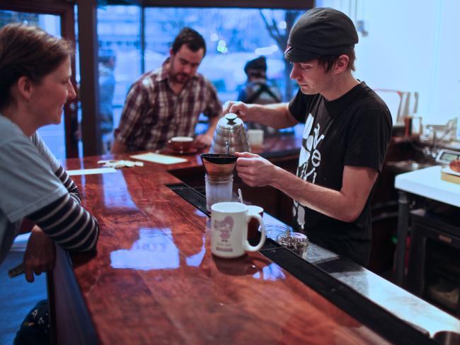 Courier Coffee, Portland. Picture: Jamie Francis / travelportland.com
