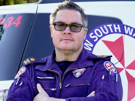 Brian Parsell Chief Inspector, Duty Operations Manager Western Sydney Zone for NSW Ambulance.