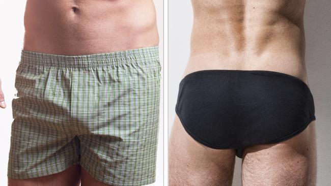 boxers vs briefs. Picture: istock