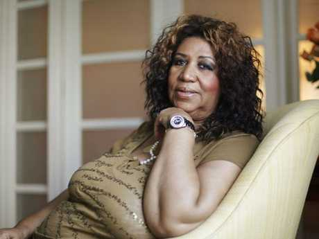 The Queen of Soul poses for a portrait in Philadelphia in 2010.