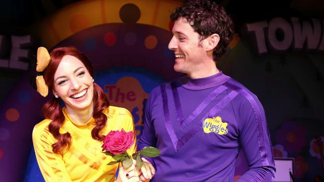 Emma and Lachy from The Wiggles have split. Picture: Adam Taylor
